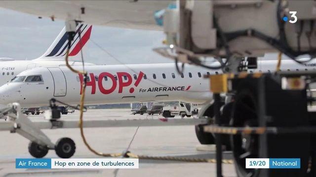 Air France : Hop en zone de turbulence