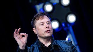 L'entrepreneur Elon Musk, le 30 avril 2020, à Washington, aux Etats-Unis, le 9 mars 2020. (BRENDAN SMIALOWSKI / AFP)