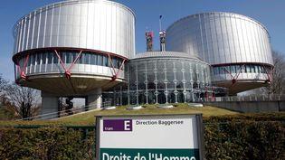Le palais des Droits de l'Homme qui abrite la Cour Européenne des droits de l'Homme à Strasbourg (DOMINIQUE GUTEKUNST / MAXPPP)