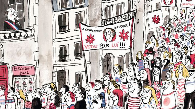"""""""Ah si j'étais président !"""" de Catherine Leblanc  (Roland Garrigue / P'tit Glénat)"""