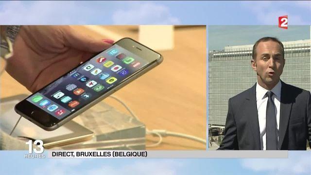 Amende record pour Apple en Europe