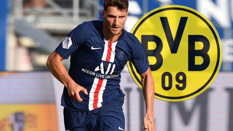 Thomas Meunier a paraphé un contrat de 4 ans avec le Borussia Dortmund.  (FRANK HOERMANN/SVEN SIMON / SVEN SIMON)