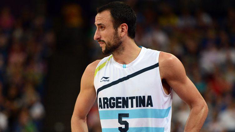 Manu Ginobili sous le maillot de la sélection argentine