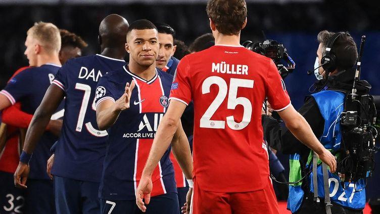 Le Paris Saint-Germain et le Bayern Munich ne penchent pas du côté de la Super Ligue.  (FRANCK FIFE / AFP)