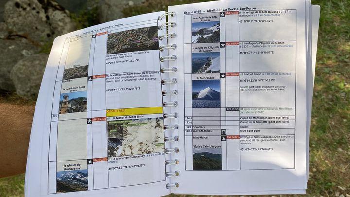 Les équipes de réalisation font des repérages avant le début du Tour de France pour sélectionner les lieux à montrer pendant la course, septembre 2020. (FANNY LECHEVESTRIER / RADIO FRANCE)