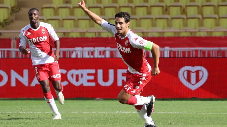 Wissam Ben Yedder a inscrit un doublé contre Strasbourg (VALERY HACHE / AFP)