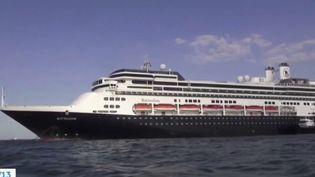 Plus de 100 Français sont bloqués au large du Panama sur un bateau où quatre personnes sont décédées à cause du coronavirus Covid-19. (FRANCE 3)