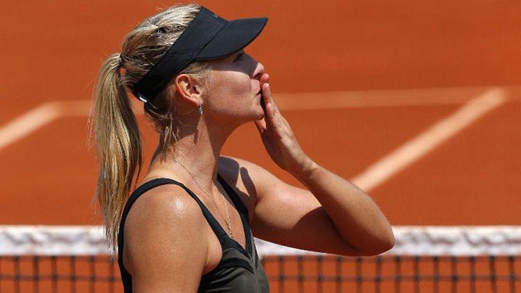 La Russe Maria Sharapova (N.2) a passé le premier tour des Internationaux de France sans problème