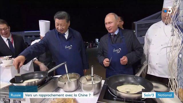 La Russie opère un rapprochement stratégique avec la Chine