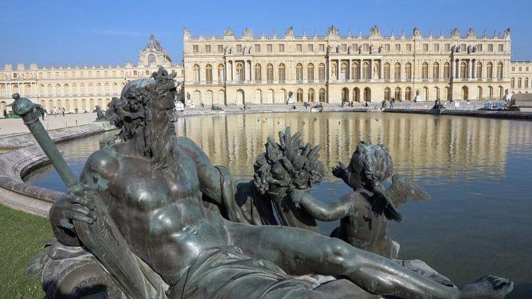 Le château de Versailles très prisé des réalisateurs  (LUDOVIC MARIN / AFP)