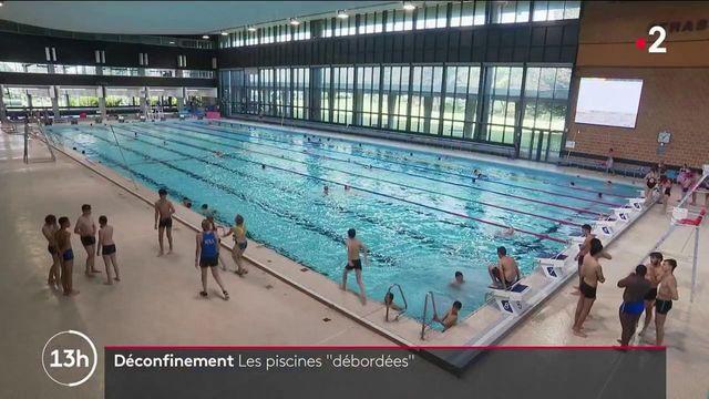 Déconfinement : les piscines débordent d'enthousiasme