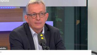 Pierre Laurent, secrétaire général du Parti communiste français (PCF), invité de franceinfo le jeudi 29 juin. (RADIO FRANCE / FRANCEINFO)