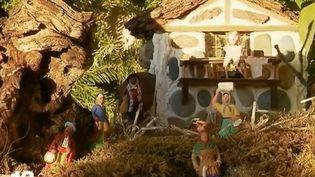 Crèche de Noël à Lucéram (Alpes-Maritimes) (FRANCE 2)