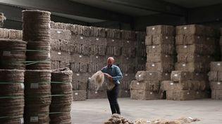 La France est le numéro un mondial de la production de lin. (CAPTURE ECRAN FRANCE 2)