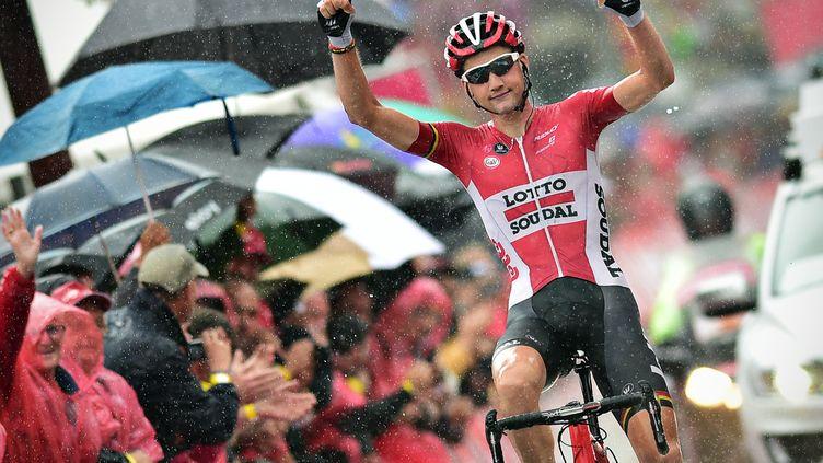 Tim Wellens s'impose sous une pluie battante.  (DAVID STOCKMAN / BELGA MAG)
