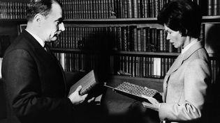 François et Danielle Mitterrand en 1965. (L'HUMANITE/KEYSTONE-FRANCE / GAMMA-RAPHO)