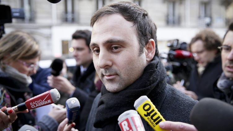 Eduardo Rihan Cypel, député de Seine-et-Marne et secrétaire national du PS chargé des Relations avec le Parlement (THOMAS PADILLA / MAXPPP)
