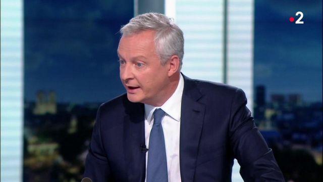 Plan de relance : Bruno Le Maire veut soutenir les entreprises