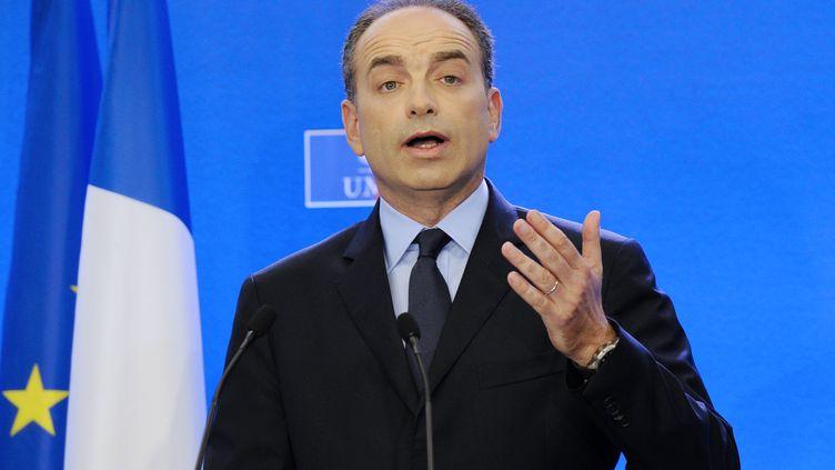 Jean-François Copé, à Paris, le 17 juin 2012. (BERTRAND GUAY / AFP)