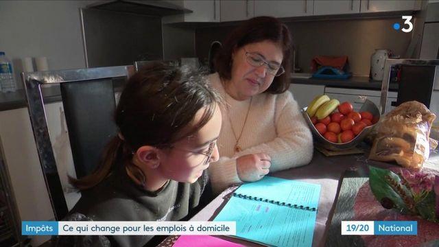 Impôts : ce qui change pour les emplois à domicile