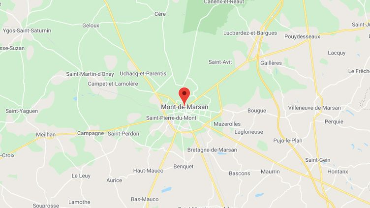 Mont-de-Marsan (Landes) (GOOGLE MAPS)