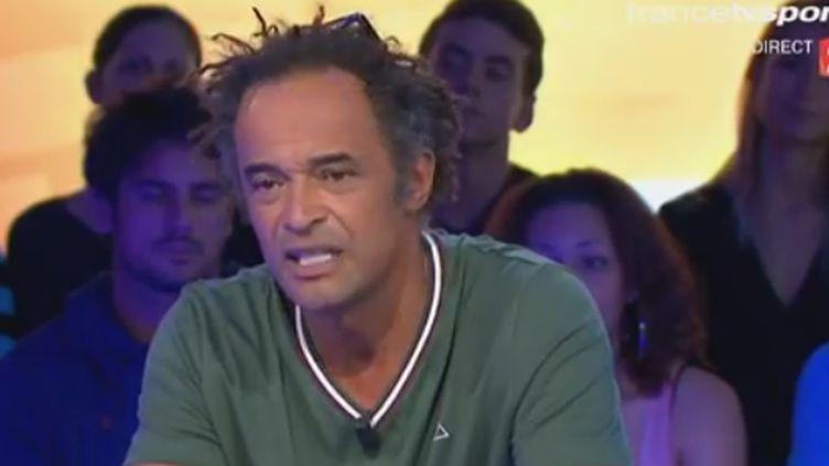 Yannick Noah invité de Stade 2