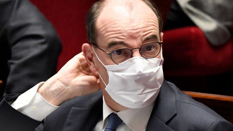 Jean Castex sera-t-il sacrifié après la crise pour sauver la présidentielle ? (photo du 26 octobre 2020) (BERTRAND GUAY / AFP)