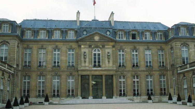 Le palais de l'Elysée (France 2  Jacques Loew)