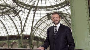 Jean-Paul Cluzel, ancien président du Grand Palais, le 14 avril 2010 à Paris. (BERTRAND GUAY / AFP)