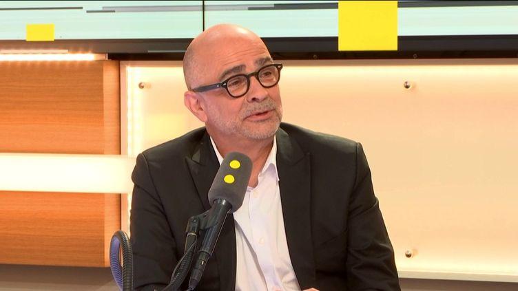 Serge Orru, conseiller politique auprès de la maire de Paris, Anne Hidalgo et ex-directeur général du WWF France, invité des informés de franceinfo, le 7 juillet 2019. (FRANCEINFO / RADIOFRANCE)