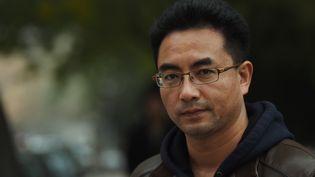 Le réalisateur Pema Tseden en 2015 (GREG BAKER / AFP)