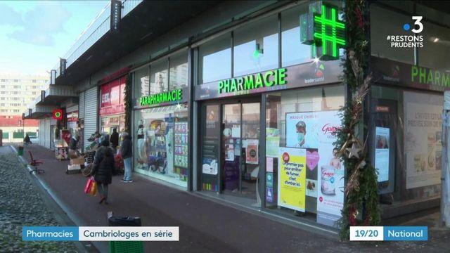 Île-de-France : des cambriolages en série dans les pharmacies