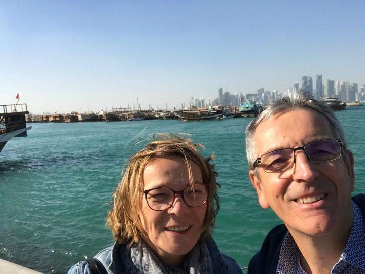 """Thierry Couderc et son épouse à Doha : """"Les Qataris ont toujours besoin de faire du beau"""" (COUDERC)"""