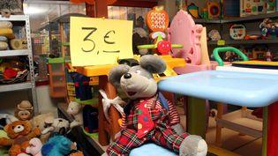 Un entrepôt de jouets Emmaüsà Thionville (Moselle) (MAXPPP)