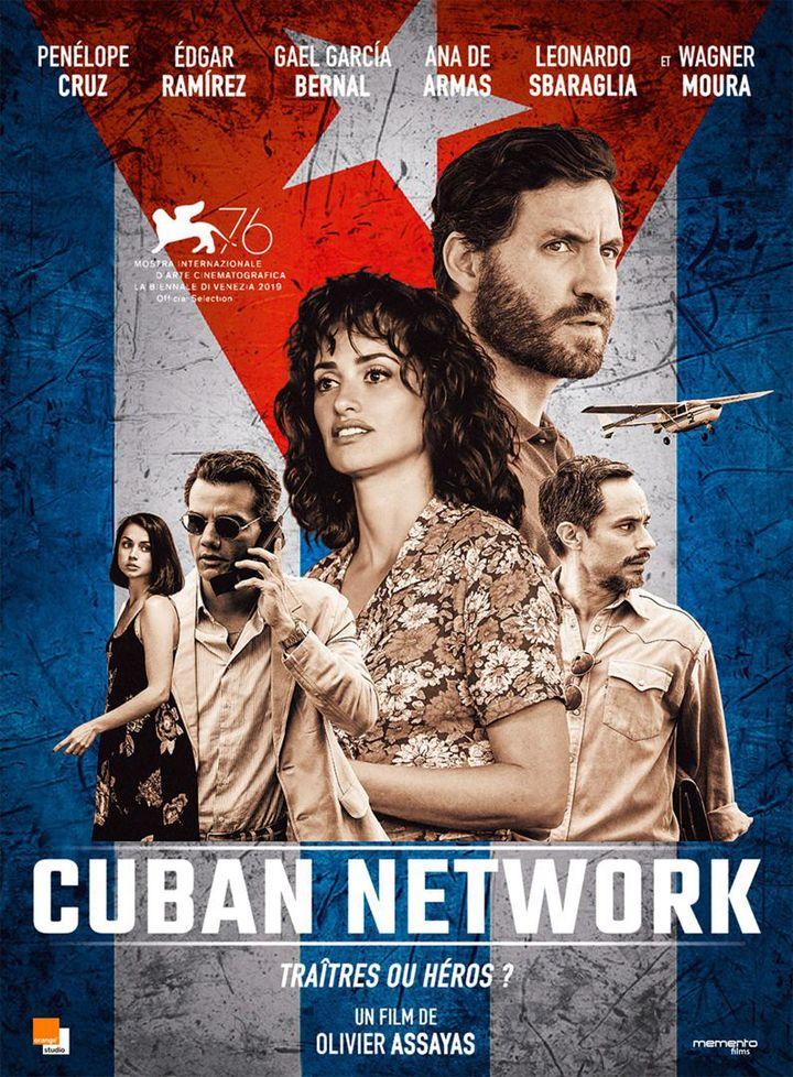 """L'affiche de """"Cuban Network"""" d'Olivier Assayas, en salle le 20 janvier 2020, en VOD en mai 2020. (Memento Films Distribution)"""