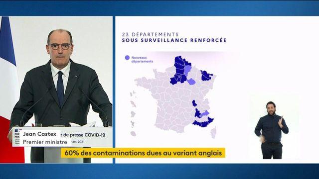 Covid-19 : Jean Castex annoncent que les Hautes-Alpes, l'Aisne et l'Aube rejoignent les départements sous surveillance