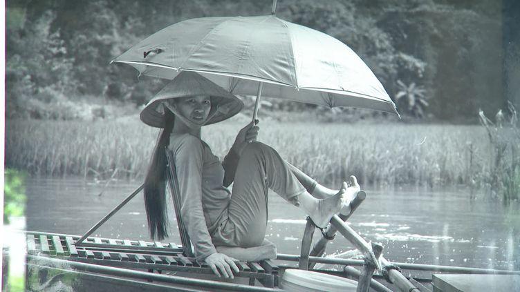 Une photo de l'exposition Viet Nam, le peuple du Mékong à Châteauroux (France 3 Centre-Val de Loire)