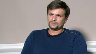 Ruslan Boshirov, lors de son interview à la télévision russe, le 13 septembre 2018. (RT)