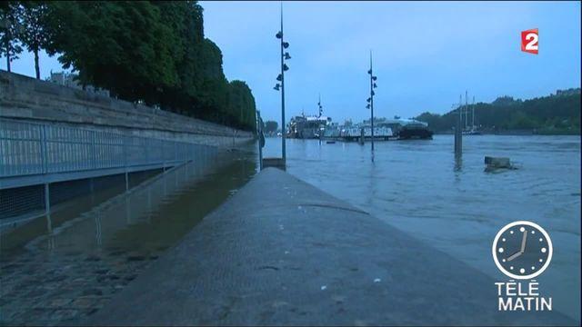 Paris voit l'eau monter
