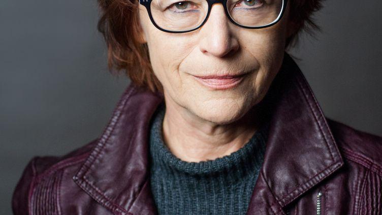 """L'écrivaine canadienne Andrée A. Michaud. Elles vient de recevoir le prix SNCF du polar pour """"Bondrée"""" (Rivages) (© Marianne Deschênes)"""