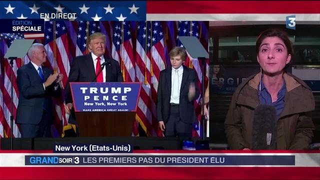 Élection de Donald Trump : les premiers pas du président élu