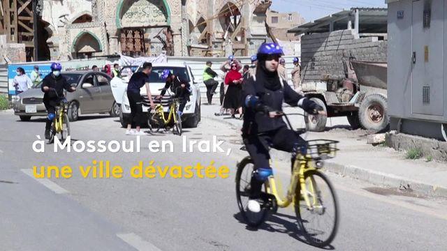 Irak : des femmes à vélo pour lutter contre des tabous conservateurs