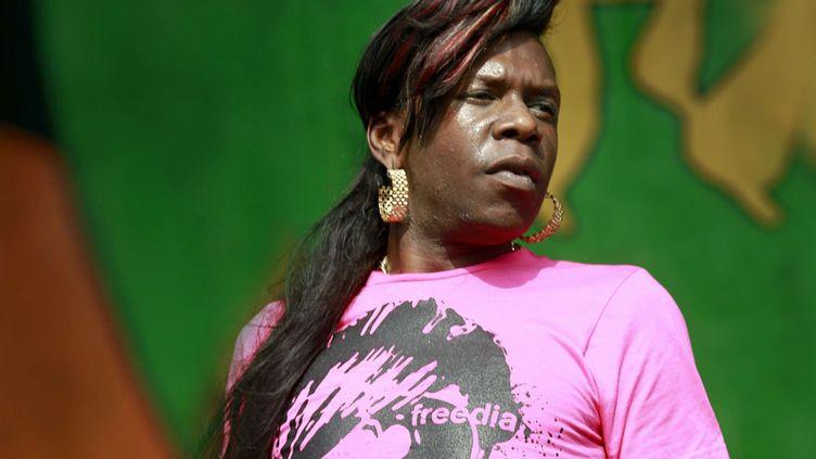 Big Freedia vient spécialement de la Nouvelle Orléans pour le festival  (SIPANY/SIPA)