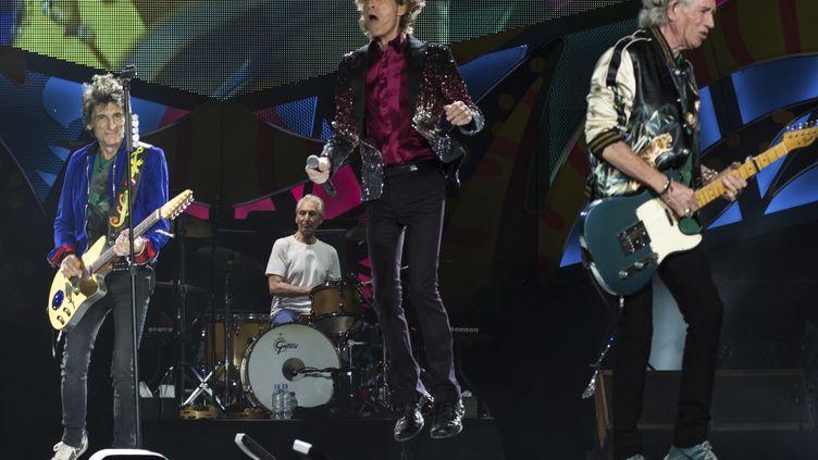 La salle U Arena de Nanterre offrira les 19 et 22 octobre prochainsdeux soirées aux Rolling Stones, ici à Cuba en mars 2016. (MAXPPP)
