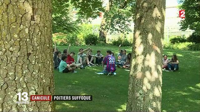 Canicule : Poitiers s'organise face à la chaleur