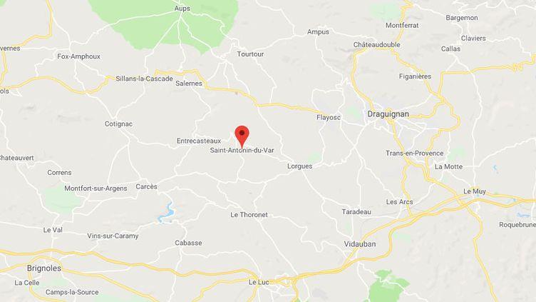 Saint-Antonin-du-Var, dans le Var. (GOOGLE MAPS)