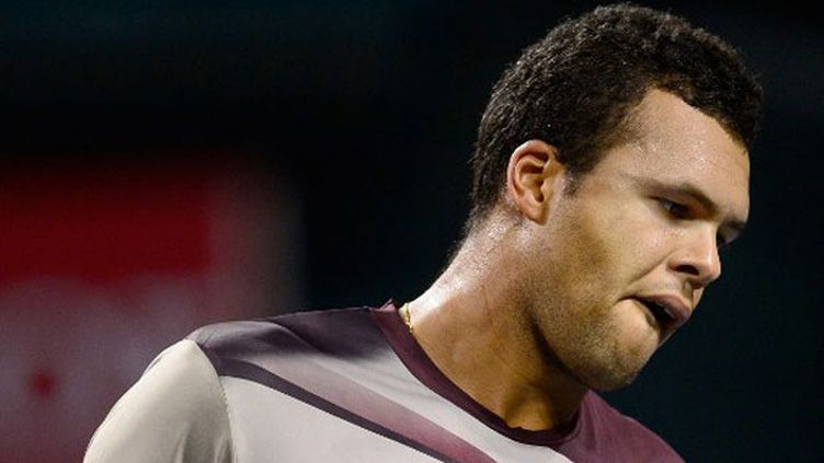 Le joueur français Jo-Wilfried Tsonga