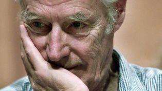 George Martin, le producteur historique des Beatles, en 2002  (Niurka Barroso / AFP)