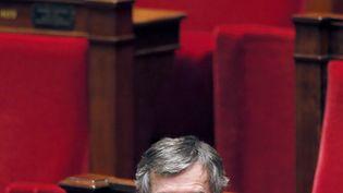 L'ex-ministre du Budget, Jérôme Cahuzac, le 11 décembre 2012 à l'Assemblée nationale. (PATRICK KOVARIK / AFP)