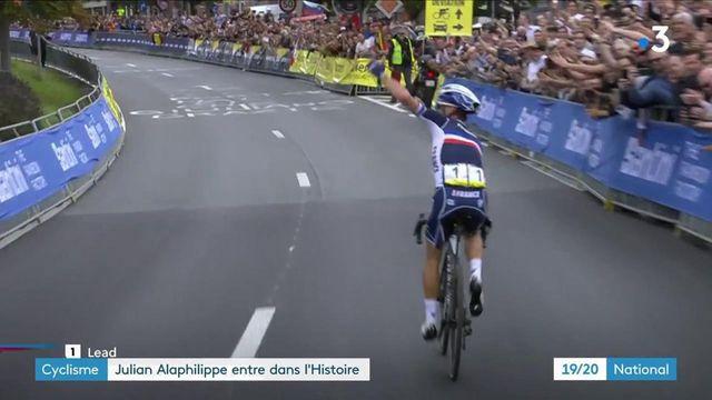 Cyclisme : Julian Alaphilippe conserve son titre de champion du monde